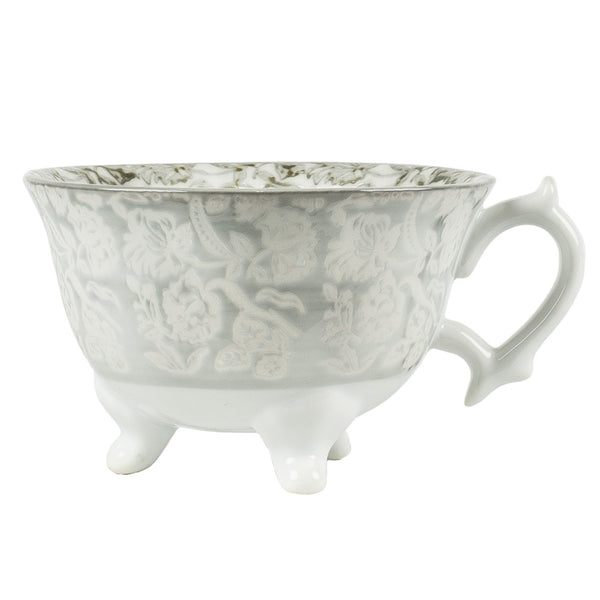 Porcelain Tea Cup on Foot