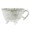 Porcelain Tea Cup on Foot - Greige - Home & Garden - Chiswick, London W4