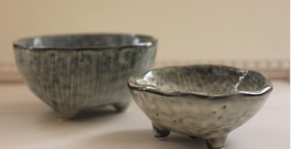 Nordic Sea Ceramic Bowls by Broste Copenhagen - Tiny & Small - Greige - Home & Garden - Chiswick, London W4