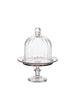 Small Glass Cake Plate & Bell Dome