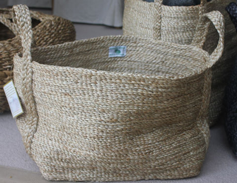 Seagrass Jute Basket