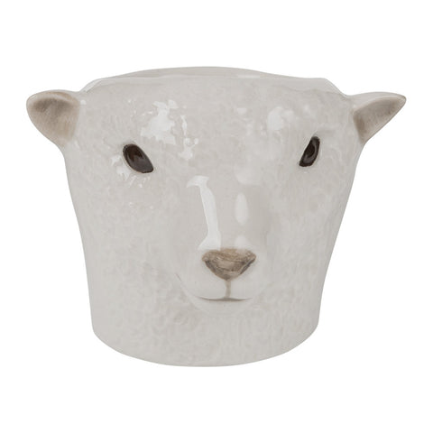 Southdown Sheep Egg Cup by Quail Ceramics - Greige - Home & Garden - Chiswick, London W4
