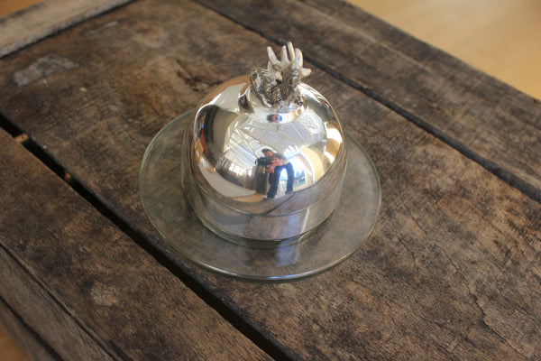 Stag Butter Dish - Greige - Home & Garden - Chiswick, London W4