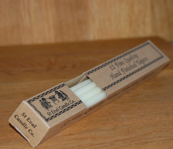Ivory Lighting Tapers from St Eval Candle Company