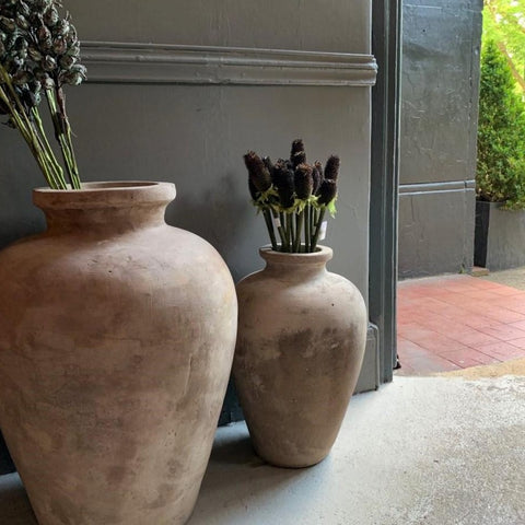 Handmade Traditional Clay Pot - Two Sizes