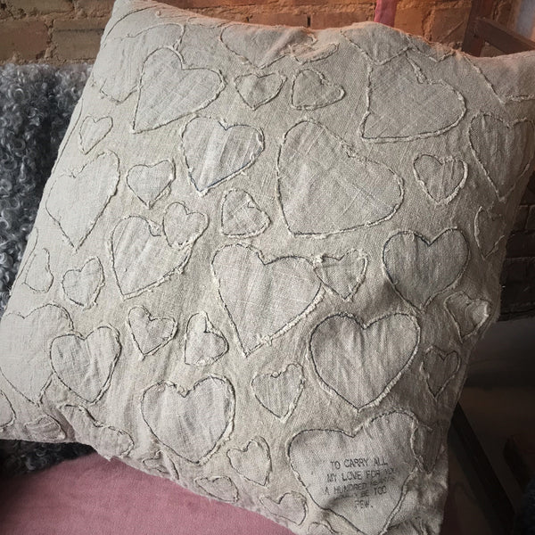 Large Linen Cushions