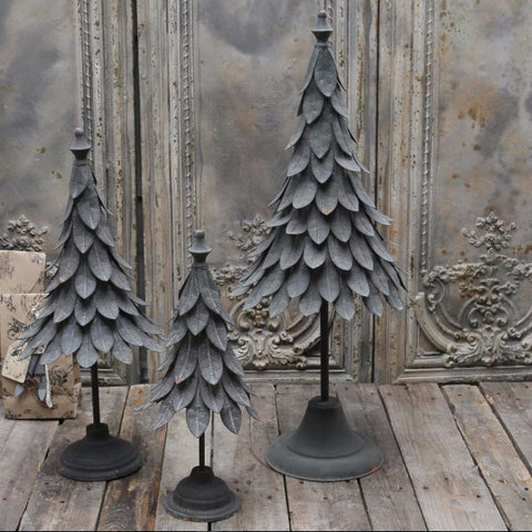 Vintage French Style Christmas Tree - Three Sizes - Greige - Home & Garden - Chiswick, London W4