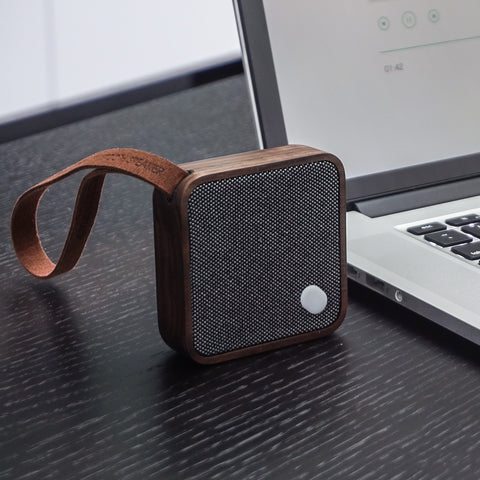 Pocket Bluetooth Speaker - Walnut Finish