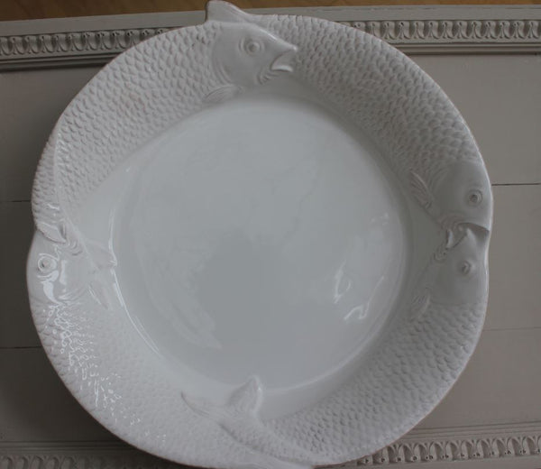 Large White Fish Dish - Greige - Home & Garden - Chiswick, London W4