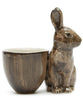 Wild Rabbit Egg Cup by Quail Ceramics - Greige - Home & Garden - Chiswick, London W4