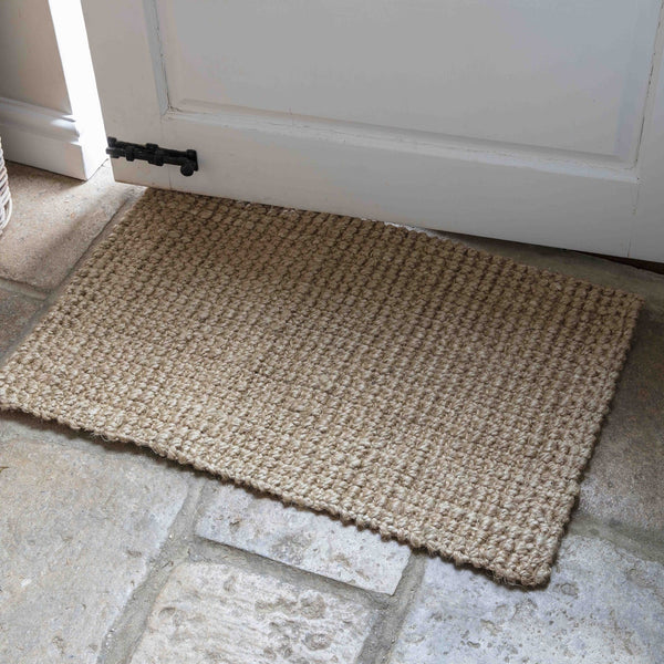 Jute Doormat - Natural or Charcoal - Greige - Home & Garden - Chiswick, London W4