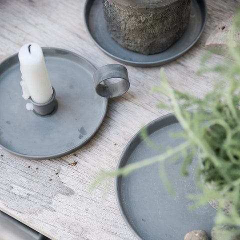 Simple Rustic Zinc Trays