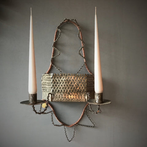 Wall Candle Holder Sconce French Antique Style