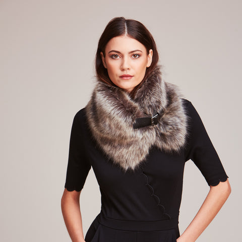 Buckle Collar from Helen Moore - Ebony, Truffle  or Spruce