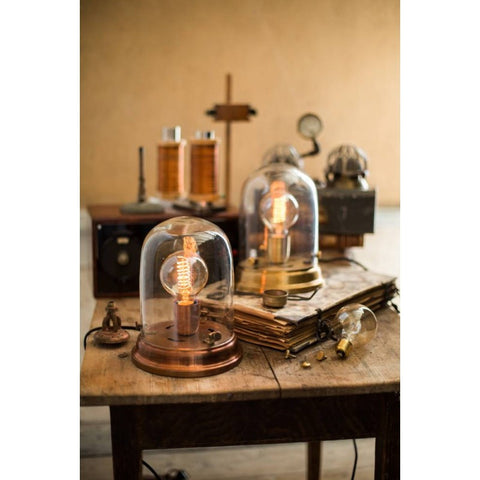 Copper Edison Table Lamp - from Watt & Veke - Greige - Home & Garden - Chiswick, London W4