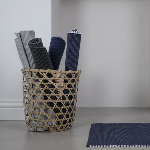 Recycled Cotton Floor Mat - Slate Grey or Grey Mist