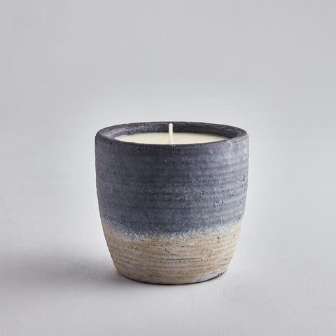 Scented Candle in Coastal Pot from St Eval Candle Company - Large - Greige - Home & Garden - Chiswick, London W4