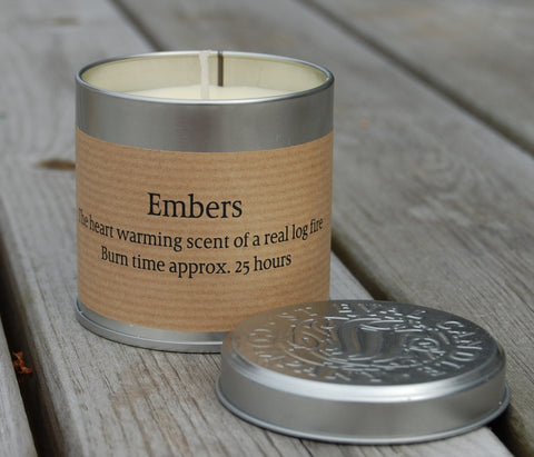 St Eval Embers Candle Tin