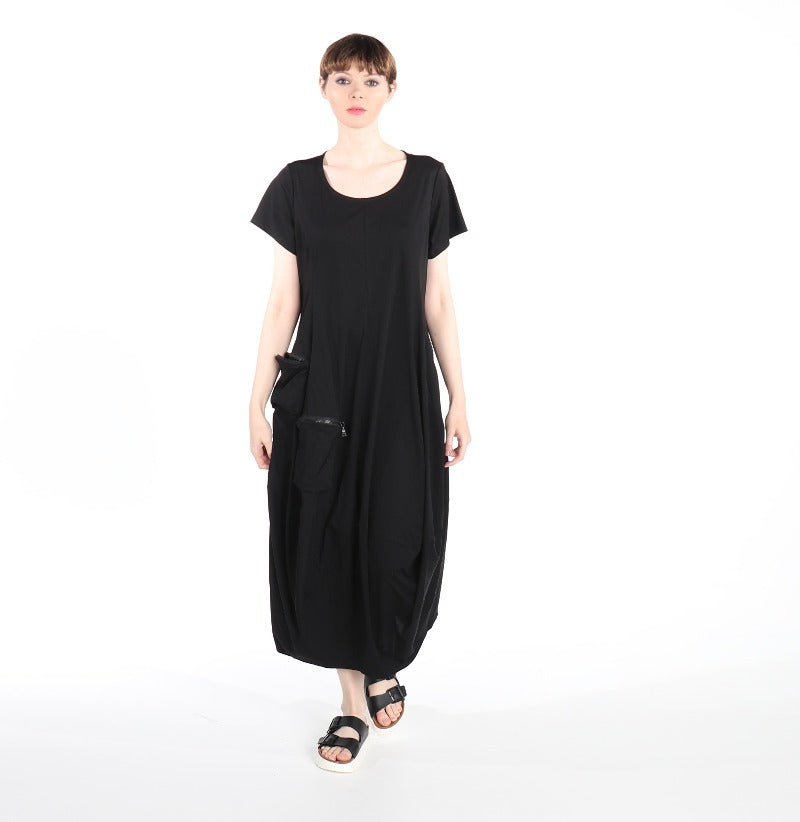 3424 Kobi dress  BLACK