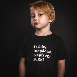 Tackle, Dropdown, Leapfrog, BURP! Tee