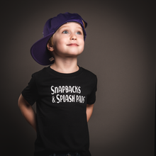 Load image into Gallery viewer, Snapbacks & Splash Pads Tee