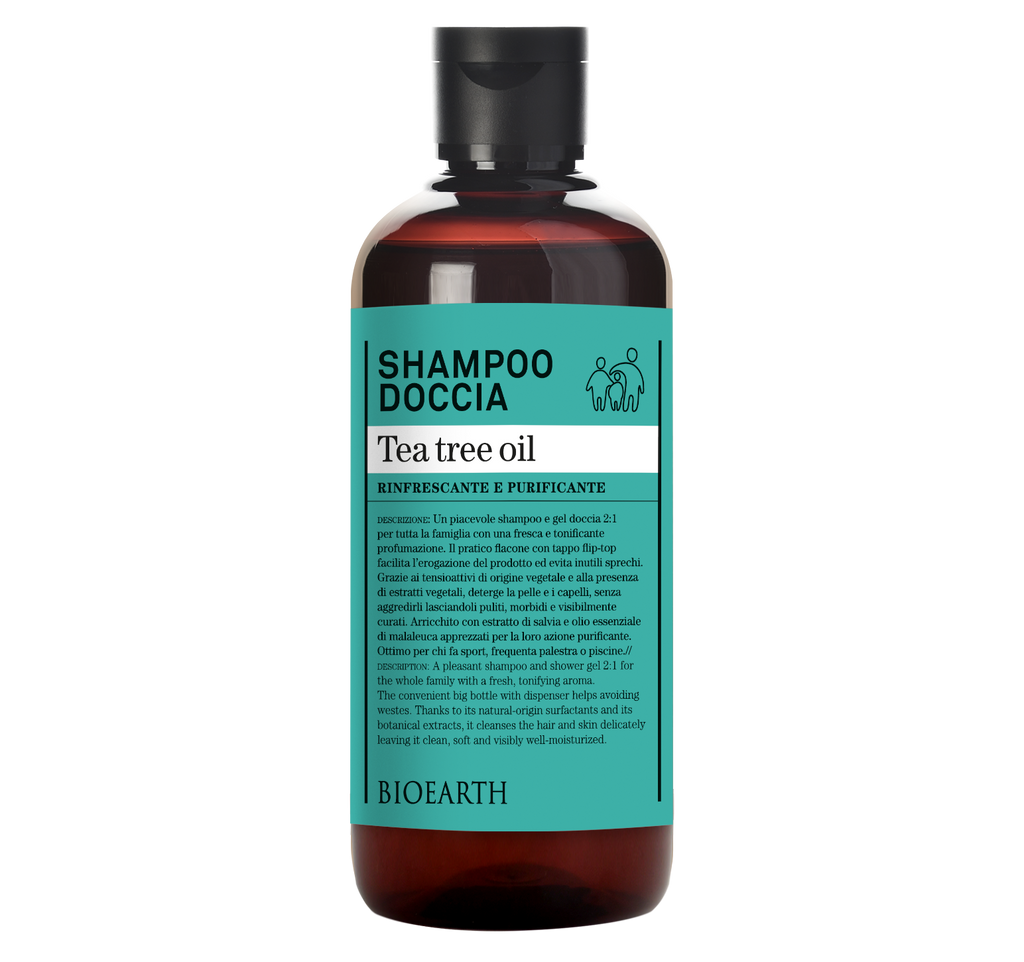 Shampoo Doccia Tea Tree Oil