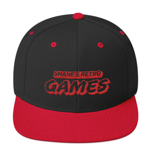 SRG Red & Black Snapback Hat