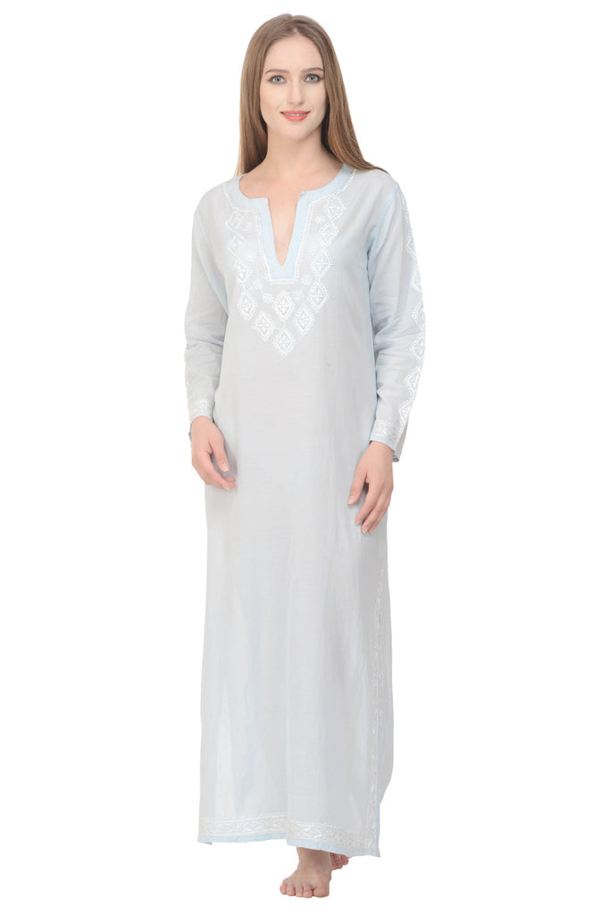 Cleo Kaftan Long - Blue