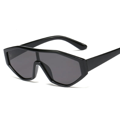 Neutral Irregular Conjoined Personality Sunglasses