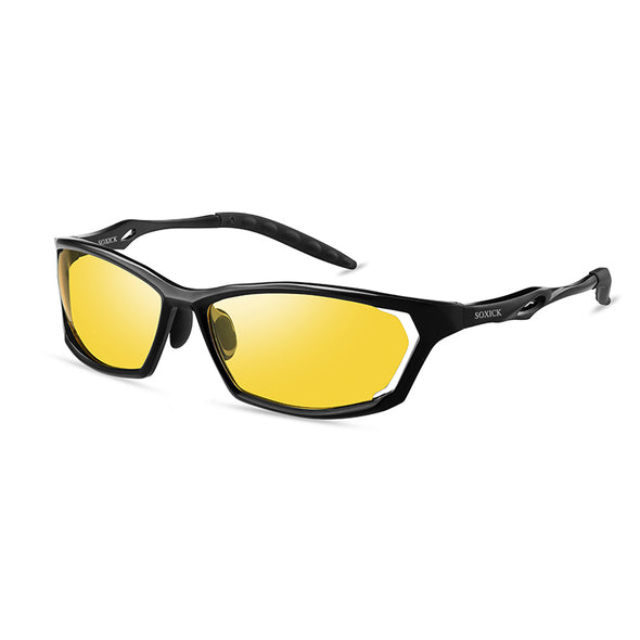 SOXICK Unisex Polygon Night Vision Glasses- A3