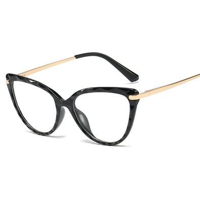 Retro Trimming Frame Anti Blue Light Glassses- BB