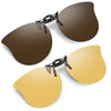 Soxick Cat Eye Clip-On Sunglasses-2 Packs