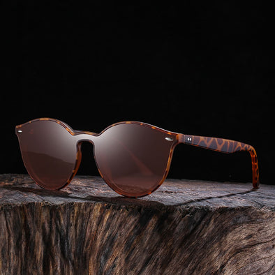 Trendy Large Full Frame Lens Classic Sunglasses