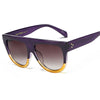 Fashion Rivet Large Frame Sunglasses - RB