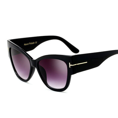 Women's Trendy Polarized Cateye Sunglasses - GF