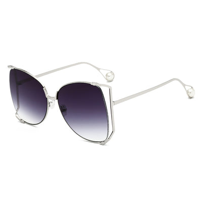Women's  Retro Large Personality Sunglasses- GK