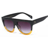 Fashion Rivet Large Frame Sunglasses - RA