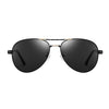 KTY Multifunctional Grey-Black Lens Polarized Sunglasses - BG
