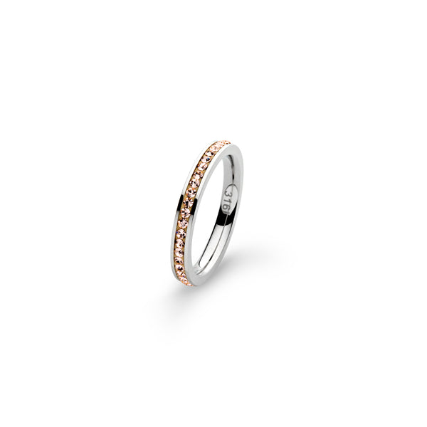 JWLZ Peachy Ring Bling rose gold