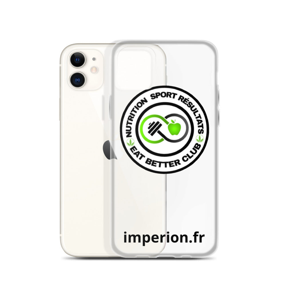 Coque pour iPhone -EAT BETTER CLUB-