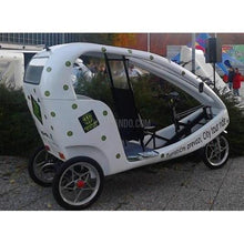 Laden Sie das Bild in den Galerie-Viewer, Modern Design Electric Velo Taxi Rikscha-Shirley-Kilimando
