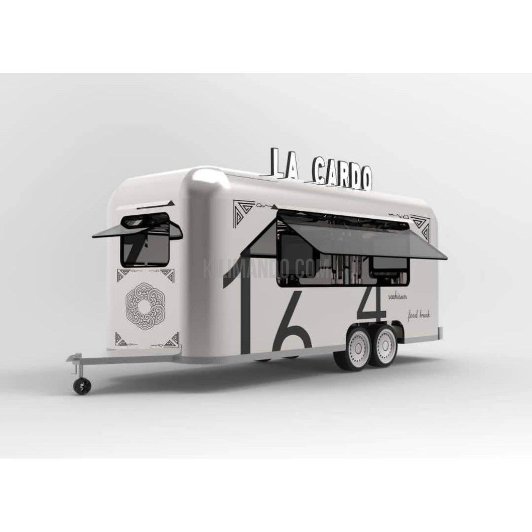 New Style Food Trailer Verkaufsanhänger-Food Truck-William-3500 x 2100 x 2500-Kilimando