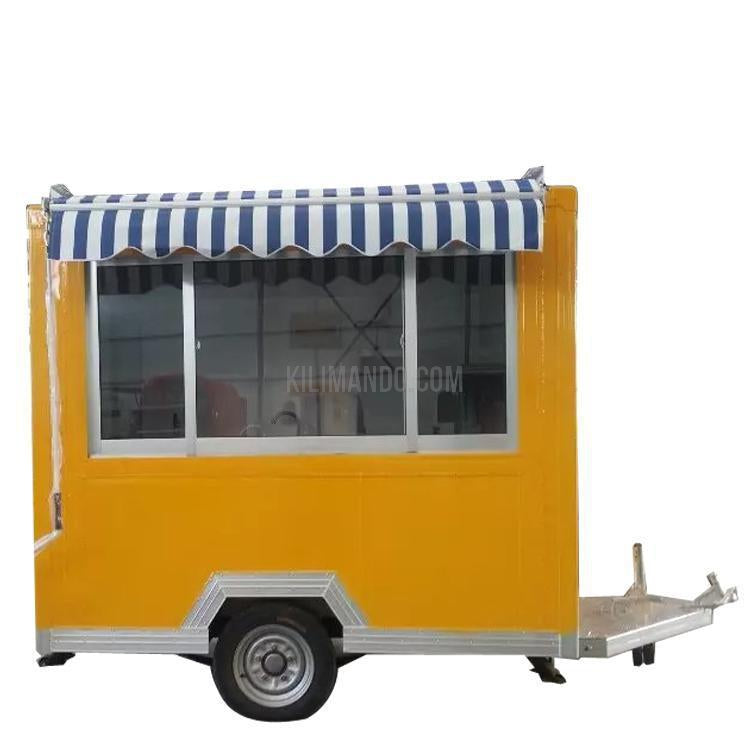 Verkaufsanhänger FT-200-2.2 Food Trailer-Food Truck-William-Kilimando