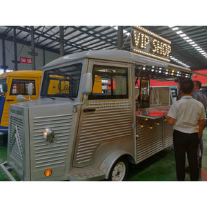 Vintage Foodtruck Citroen HY Style mit 4kw Elektromotor-Food Truck-William-Kilimando