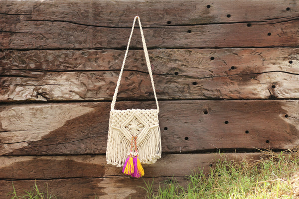 SAYAKA Cotton Small Bag