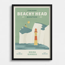 Load image into Gallery viewer, Beachy Head Marathon Personalised Print