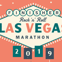 Load image into Gallery viewer, Las Vegas Half Marathon Personalised Print