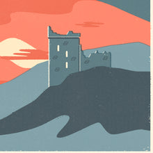 Load image into Gallery viewer, Personalised Loch Ness Marathon Race print  close up