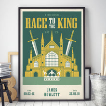 Load image into Gallery viewer, Race to the King Personalised Print