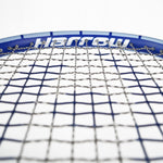 NEW Junior Squash Racquet, with 1/2 Cover, CarolinaBlue/Royal Blue